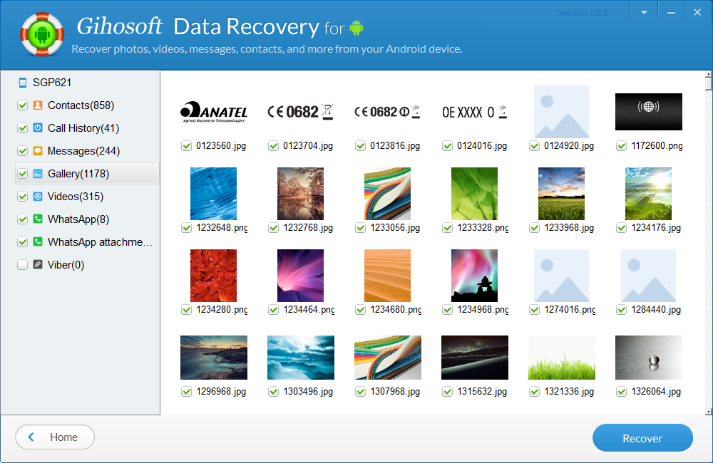 Gihosoft Android Data Recovery Pro Backup and Restore Software