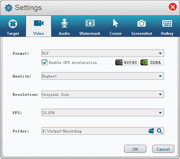 Gilisoft Screen Recorder Screenshot 8
