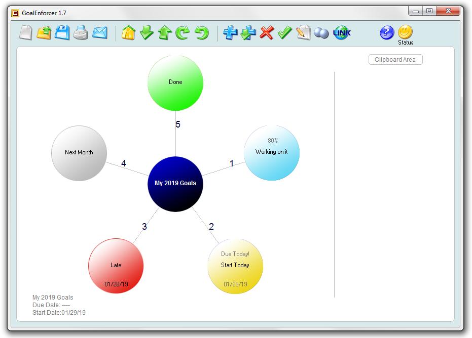 GoalEnforcer Starter Edition Screenshot