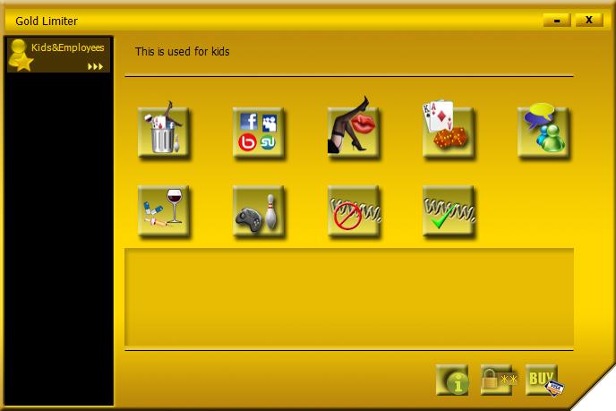 Gold Limiter Screenshot