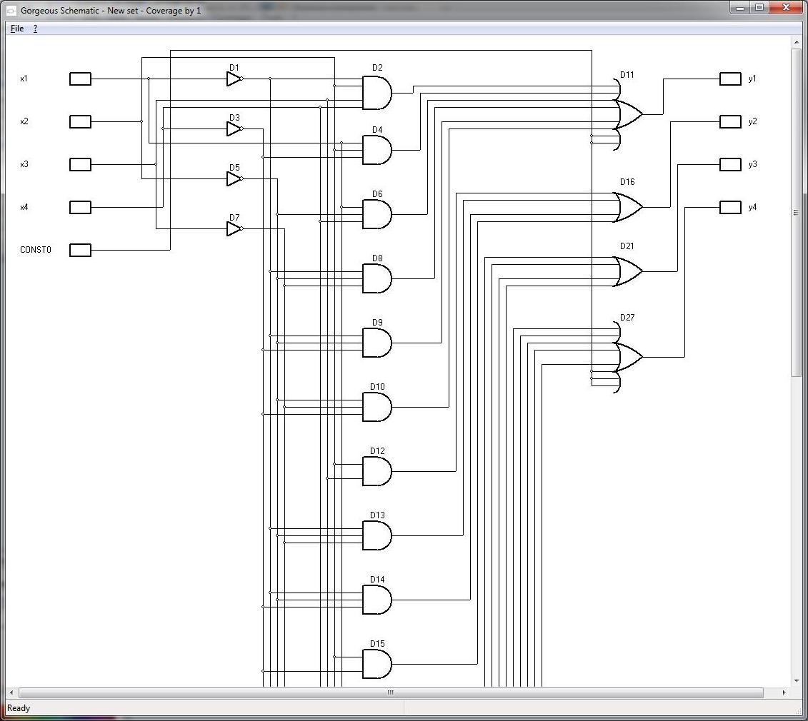 Development Tools Software, Gorgeous Karnaugh Standard Screenshot