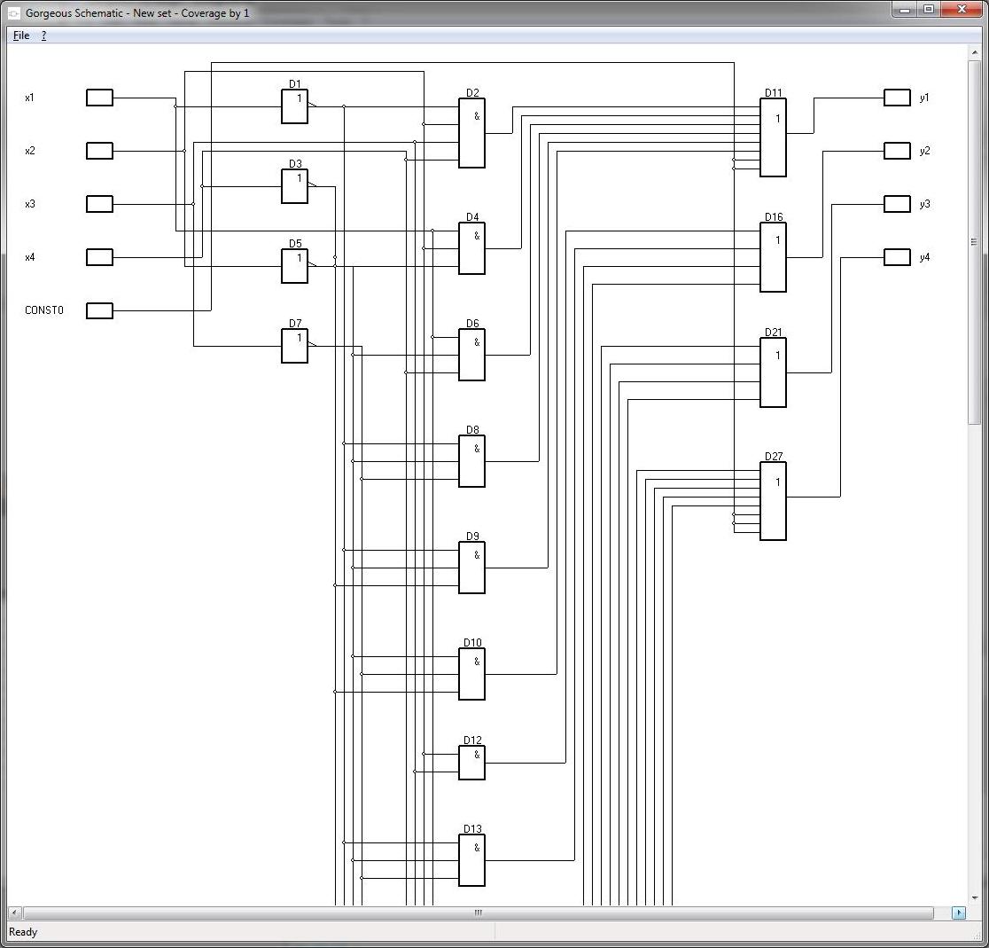 Development Software, Gorgeous Karnaugh Standard Screenshot