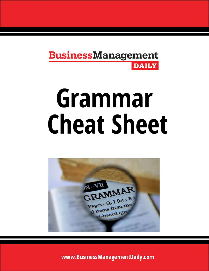 Grammar Cheat Sheet Screenshot