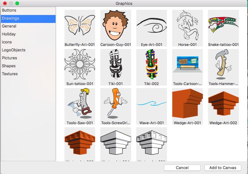 Graphic Design Studio, Graphic Design Software Screenshot
