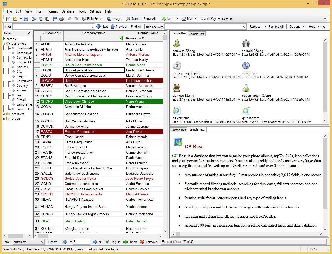 GS-Base Screenshot