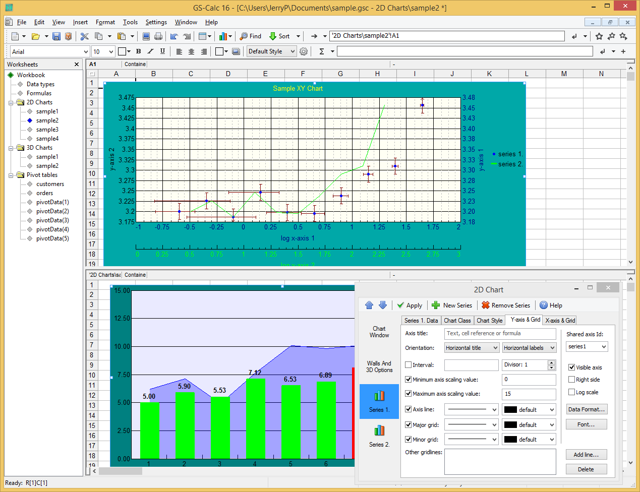 Business & Finance Software, Spreadsheet Editors Software Screenshot