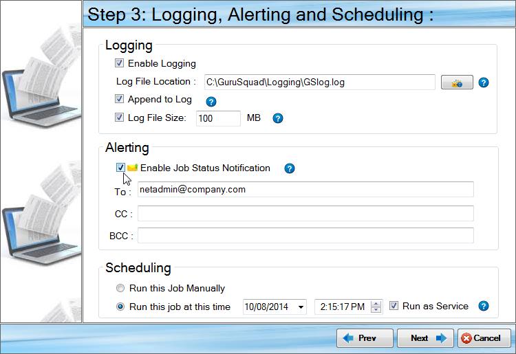 Software Utilities, GS RichCopy 360 Standard Screenshot