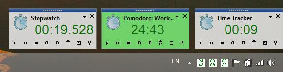 Time Tracking Software Screenshot