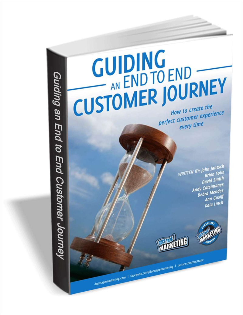 Guiding an End to End Customer Journey Screenshot