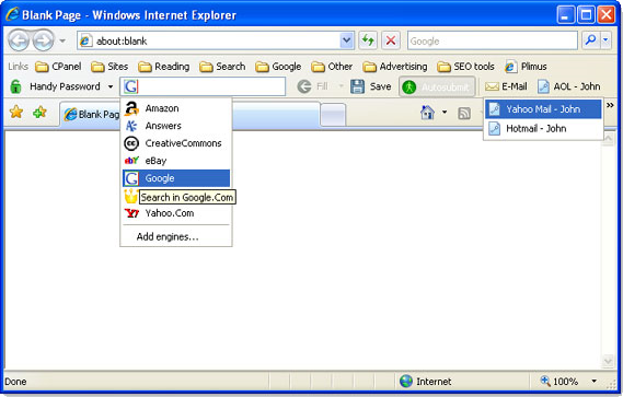Password Manager Software Screenshot