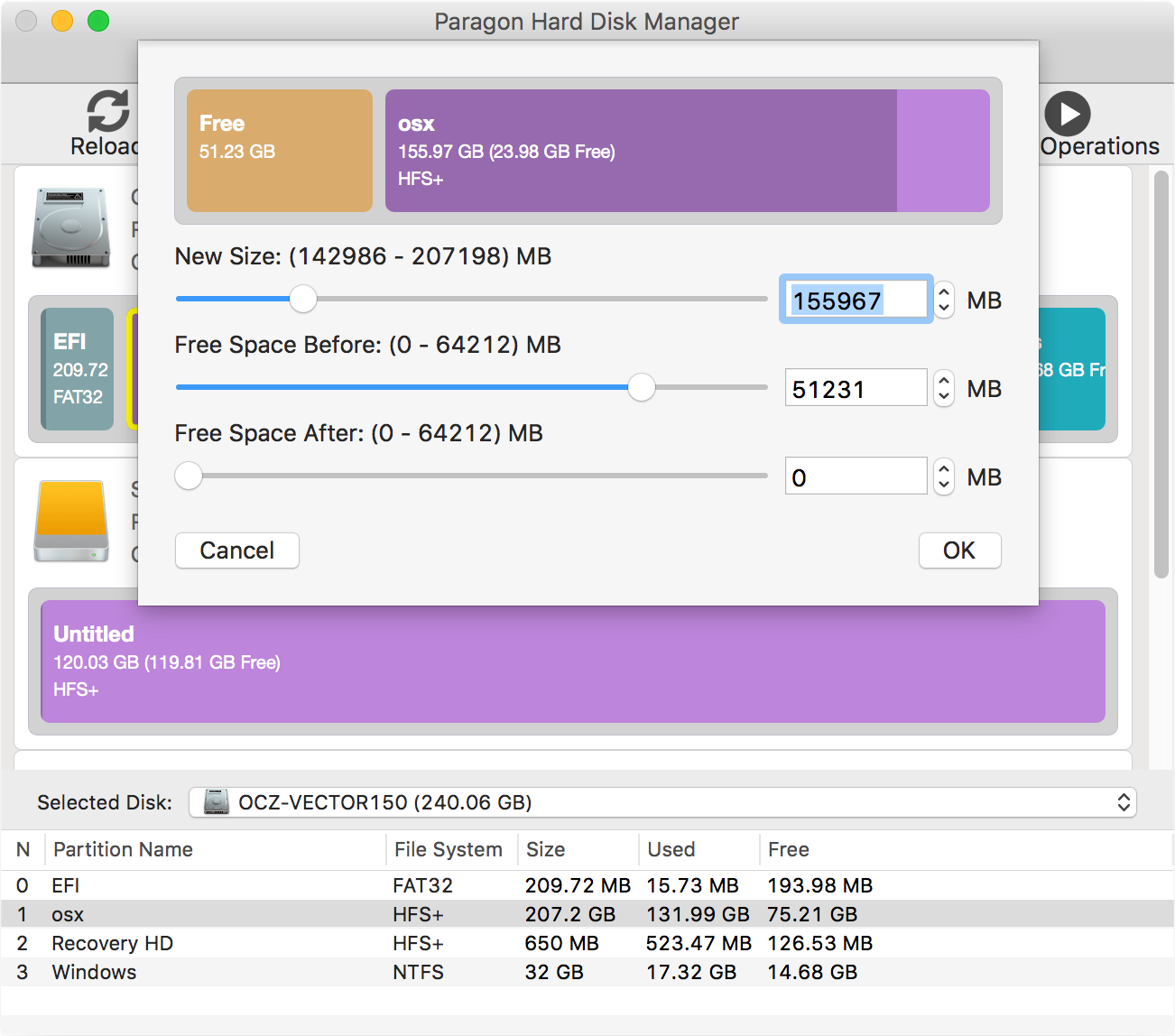 Hard Disk Manager for Mac Screenshot 9