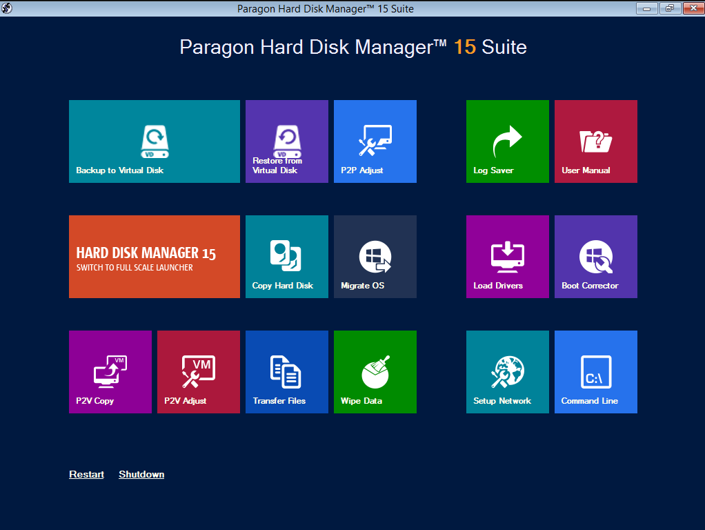Hard Disk Manager 15 Suite Screenshot 11