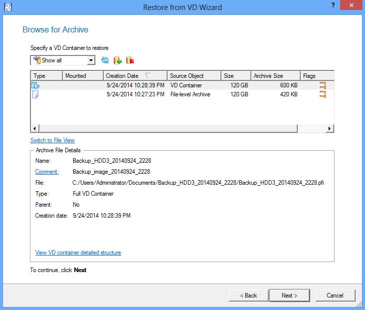 Hard Disk Manager 15 Suite Screenshot 8