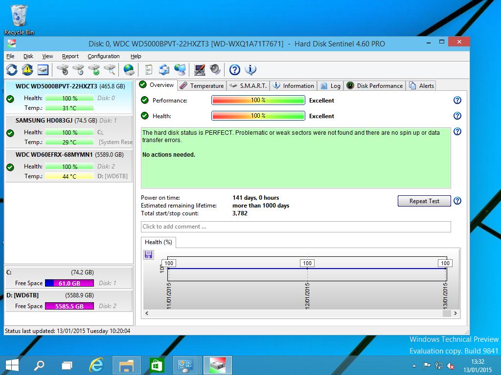Hard Disk Sentinel Standard Edition Screenshot 9