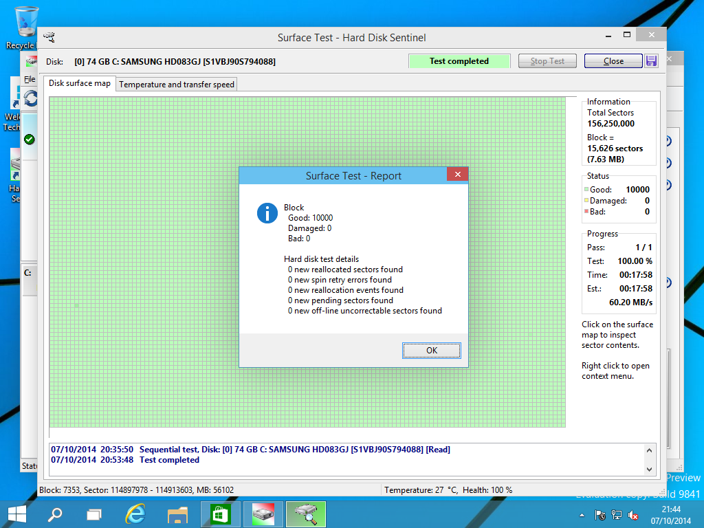 Hard Disk Sentinel Standard Edition Screenshot 11