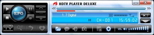 HDTV player, Video Player Software Screenshot