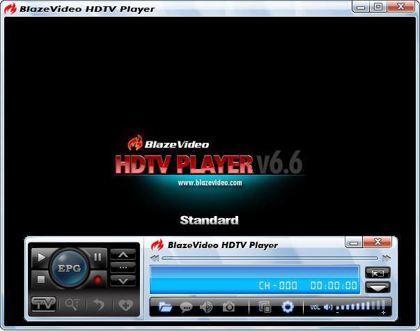 HDTV player Screenshot