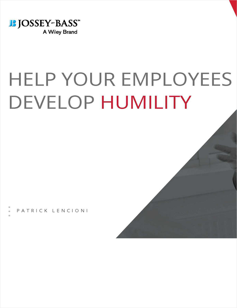 Help Your Employees Develop Humility Screenshot