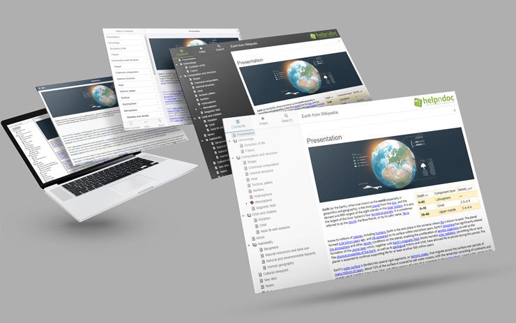 Development Software, HelpNDoc Professional Edition Screenshot