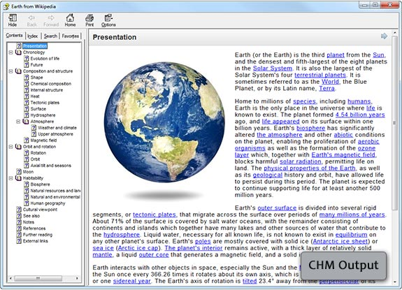 Development Software, Help Authoring Software Screenshot