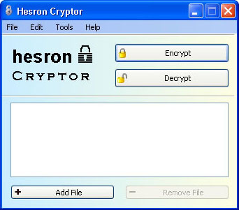 Hesron Privacy Suite, Security Software, Privacy Software Screenshot