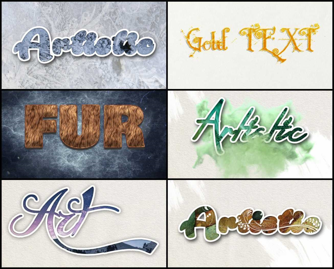 High-Resolution Backgrounds and Text Effects Bundle, Security Software Screenshot