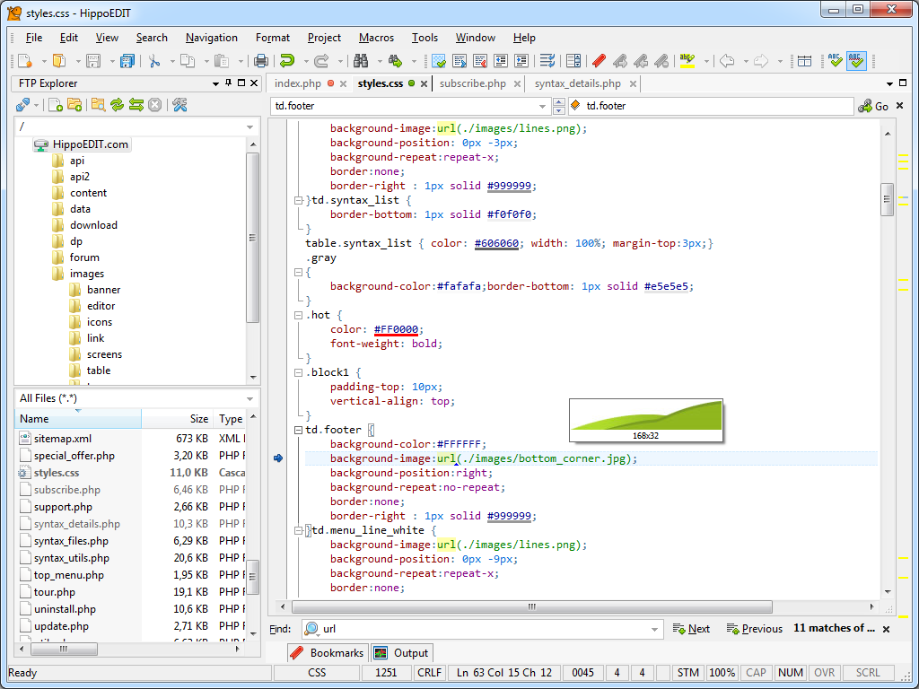 Development Software, Code Editor Software Screenshot