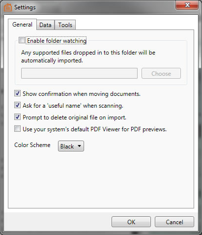 Home Document Manager, PDF Utilities Software Screenshot