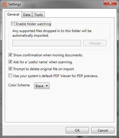 Home Document Manager, PDF Utilities Software Screenshot
