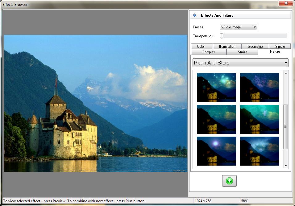Home Photo Studio Gold, Photo Editing Software Screenshot