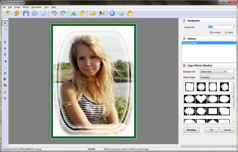 Home Photo Studio Gold, Design, Photo & Graphics Software Screenshot