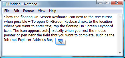 Productivity Software, Hot Virtual Keyboard 4.0 Screenshot