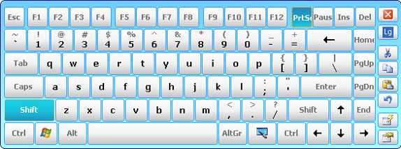 Hot Virtual Keyboard 4.0 Screenshot 11