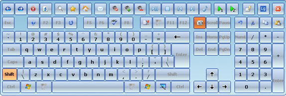 Hot Virtual Keyboard 4 0 - Typing Software Download for PC