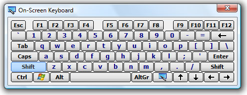 Hot Virtual Keyboard 4.0 Screenshot 9