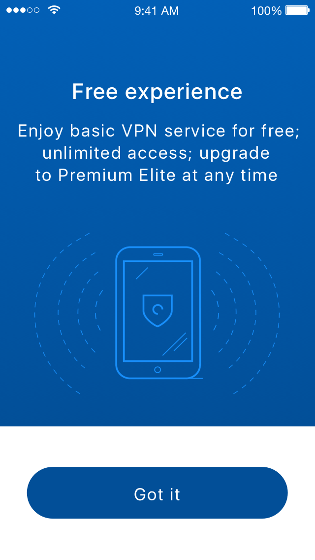 Hotspot Shield Elite Lifetime license Access Restriction