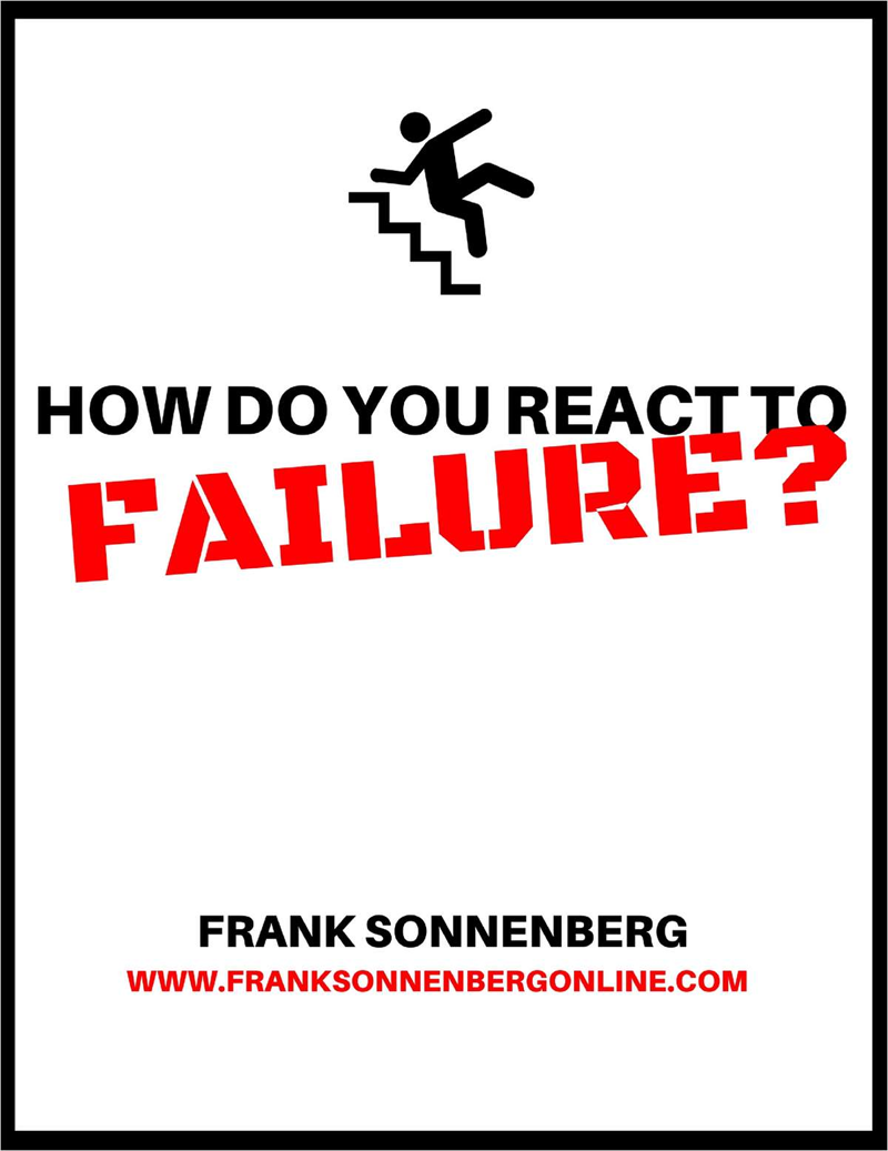 How Do You React to Failure? Screenshot