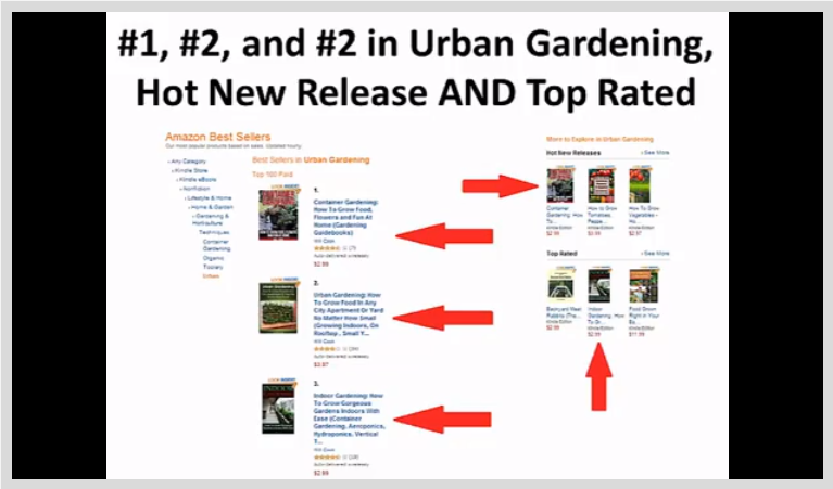 How To Become a Bestselling Author on Amazon Kindle, Learning and Courses Software Screenshot