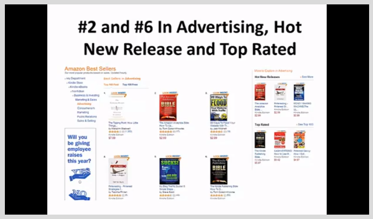 How To Become a Bestselling Author on Amazon Kindle, Hobby, Educational & Fun Software Screenshot