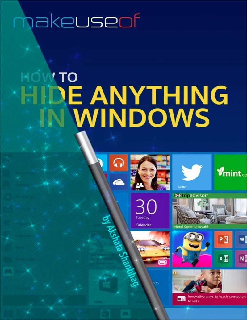 How to Hide Anything in Windows Screenshot