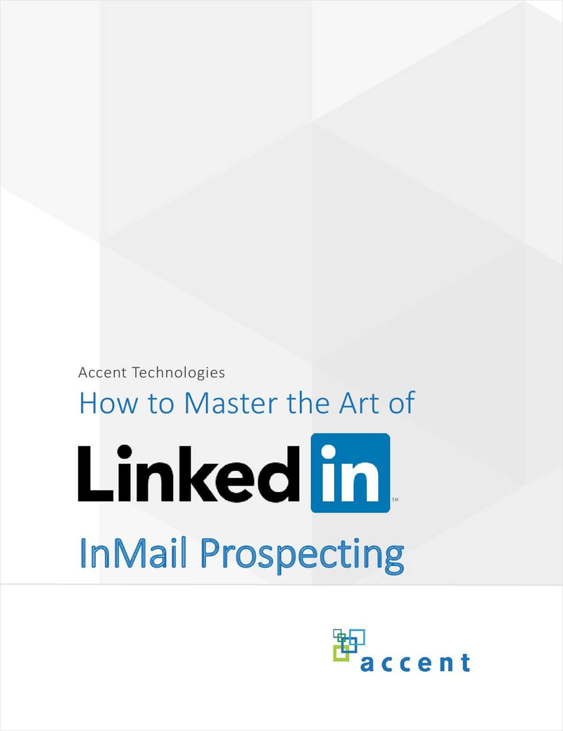 How to Master the Art of LinkedIn InMail Prospecting Screenshot