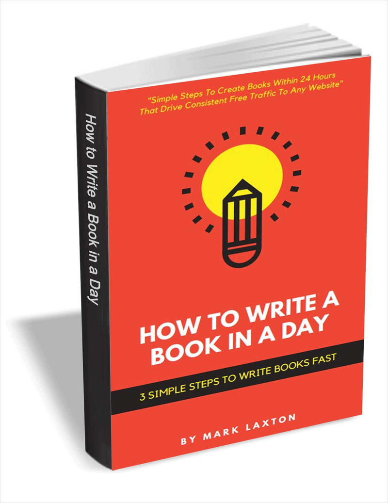 How to Write a Book in a Day - 3 Simple Steps to Write Books Fast Screenshot