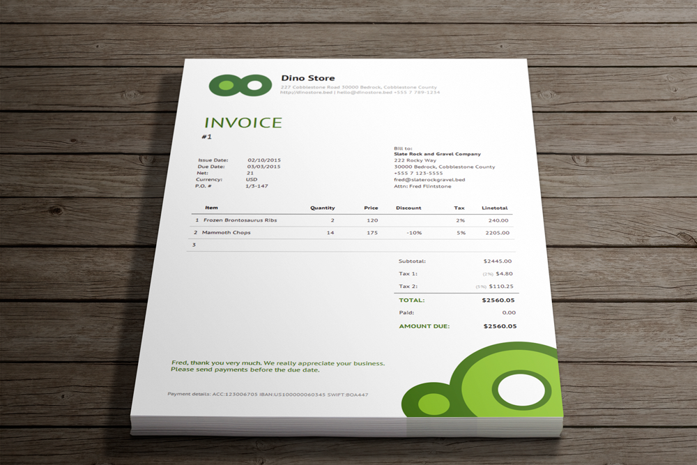 Simple online invoicing - Invoicebus Screenshot 11
