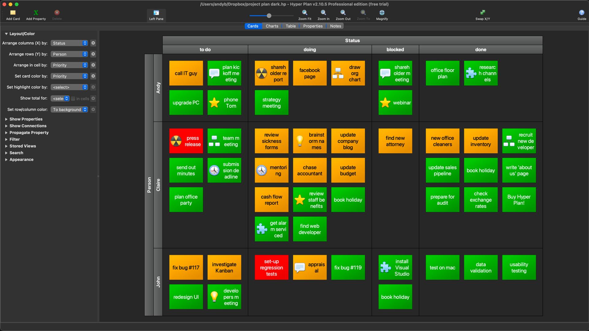 Hyper Plan Screenshot