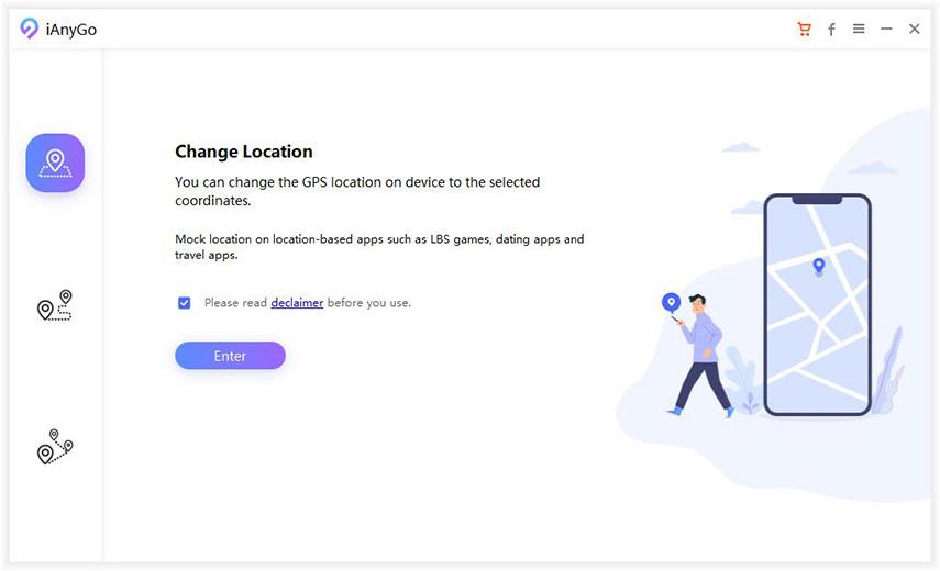 iAnyGo -  iOS Location Changer Screenshot