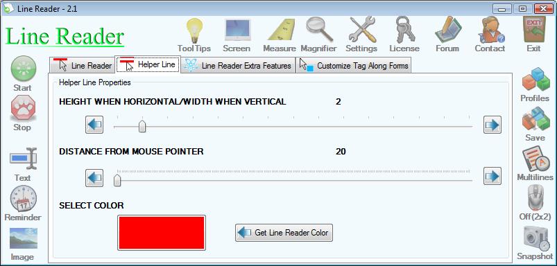 Iconico Desktop Tools A La Carte Screenshot