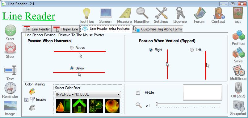 Iconico Desktop Tools A La Carte, Other Utilities Software Screenshot