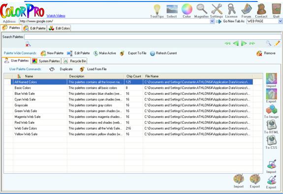 Iconico Web Tools A La Carte Screenshot 8