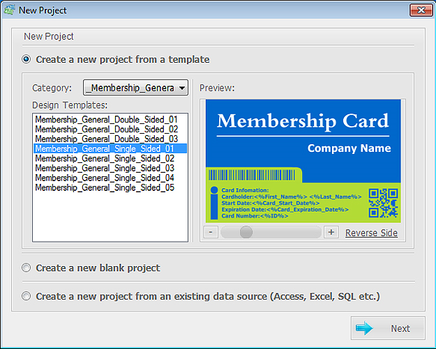ID Card Workshop - Single User Full License, Business & Finance Software, Business Management Software Screenshot
