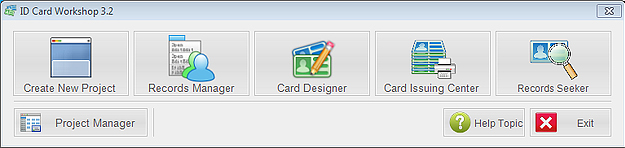 ID Card Workshop - Single User Full License Screenshot